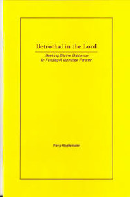 Betrothal in the Lord - Book