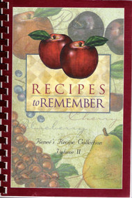 Recipes to Remember Vol 2 - Cook Book
