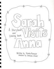 Sarah Visits Anna - Book