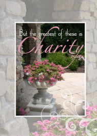 The Greatest is Charity - Wedding - KJV Scripture Greeting Card