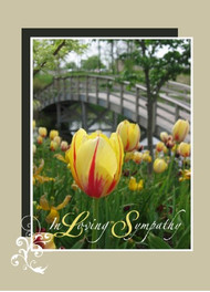 "In Loving Sympathy - 5"" x 7"" KJV Greeting Card"