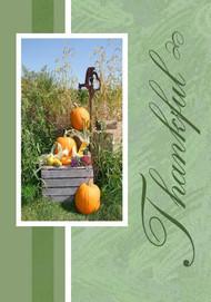 """Thankful - 5"""" x 7"""" KJV Greeting Card"""