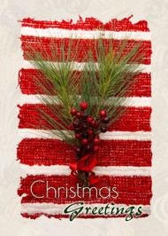 "Christmas Greetings - 5"" x 7"" KJV Greeting Card"