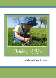 "Thinking of you - 5"" x 7"" KJV Greeting Card"