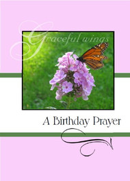 "A Birthday Prayer - 5"" x 7"" KJV Greeting Card"