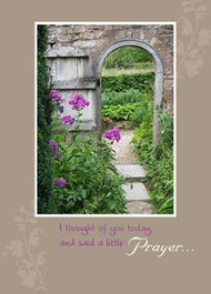 """I Thought of You Today - 5"""" x 7"""" KJV Greeting Card"""
