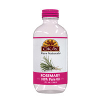 Rosemary Oil 100% Pure for Hair & Skin- For All Hair Textures And All Skin Types-Helps Tone Skin- Helps Treat Arthritis-Helps Slow Down Premature Hair Loss & Graying Of Hair - Silicone, Paraben Free - Made in USA  1oz / 30ml