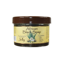 African Black Soap Jelly-Antiseptic  Wash -Natural Remedy For Cleansing Skin- For Treating Of Skin Conditions Like Acne, Blemishes, & Psoriasis-  Sulfate, Silicone, Paraben Free For All Skin Types - Created In Ghanna- Processed In USA-7oz/198Gr