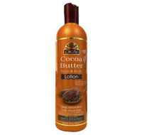 Cocoa Butter Lotion Deep Restoration & Daily Moisturizer for Face & Body- Heals Skin- For Daily Protection -Helps Restore Elasticity- Achieve Soft, & Radiant Skin-  Silicone, Paraben Free For All Skin Types- Made in USA 16oz / 473ml