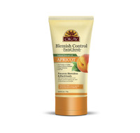 Apricot Facial Scrub for Blemish Control - Removes Dirt, And Oil- leaves Skin Freshly Cleansed, Moisturized & Energized- Helps Clear Blemishes, Minimize Pores, Leaves Skin Smooth  - Alcohol, Sulfate, Paraben Free - Made in USA 6oz