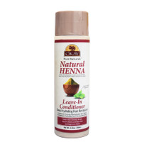 Natural  Henna Leave in Conditioner -Formulated To Deeply Hydrate - Improves Appearance  & Feel Of Hair- Revitalizes Damaged Hair- Nourishing Henna Extracts- Sulfate, Silicone, Paraben Free For All Hair Types and Textures - Made in USA  8.45oz