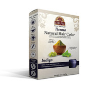Herbal Henna Hair Color Indigo- Natural Hair Coloring Solution- Free Of Harmful Chemicals -Provides Rich Vibrant Color-  Adds Nourishing Properties - Leaves Hair Soft And Shiny- For All Hair Types & Textures- Made In USA   2oz