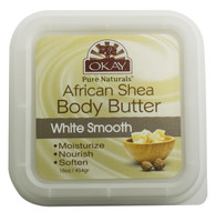 Shea Butter White Smooth Deep Moisturizing- All Natural, 100% Pure- Refined-Rich In Nutrients, Keeps Skin Soft ,Promotes Healthy Skin - Silicone, Paraben Free For All Skin Types. Made in USA 16 oz