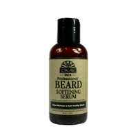 Beard Softening Serum for Men- Helps Soften, Moisturize, And Increase Manageability- Sulfate, Silicone, Paraben Free For All Hair Types & Textures. Made in USA 4oz/118ml
