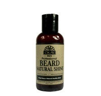 Beard Natural Shine for Men- Helps Keep Beard  Soft, Shiny, And Moisturized  -Sulfate, Silicone, Paraben Free For All Hair Types & Textures. Made in USA 4oz/118ml