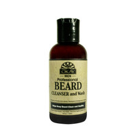 Beard Cleanser and Wash for Men- Formulated To Help Maintain Moisturized, Soft And Nicely Groomed Beard-Sulfate, Silicone, Paraben Free For All Hair Types & Textures. Made in USA 4oz/118ml