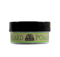 Beard Pomade for Styling and Shaping -Strong Hold- for Men- Formulated For Men, Helps Polish, Style, And Hold, Hair And Beard -Silicone, Paraben Free For All Hair Types & Textures. Made in USA 2oz/56g