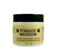 Pomade for Styling and Shaping for Men - Formulated For Men, Helps Polish, Style, And Hold, Hair And Beard -Silicone, Paraben Free For All Hair Types & Textures. Made in USA4oz/118ml