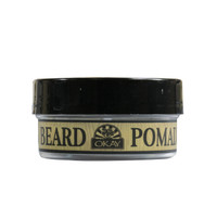 Beard Pomade for Styling and Shaping for Men- Formulated For Men, Helps Polish, Style, And Hold, Hair And Beard -Silicone, Paraben Free For All Hair Types & Textures. Made in USA 2oz/56g