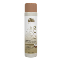 Roots Therapy® Biotin, Argan & Coconut Professional Conditioner- Hydrates Hair, Revives  Moisture & Shine- Adds Nutrients- Provides Balance To Dry, Weak, Damaged Hair. Sulfate, Silicone, Paraben Free For All Hair Types and Textures  - Made in USA