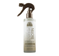 Roots Therapy® Biotin Professional Hair Styling Spray- Provides Fast Drying Moisturized All Day Hold-Sulfate, Silicone, Paraben Free For All Hair Types and Textures  - Made in USA