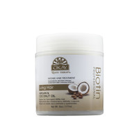 Roots Therapy® Biotin, Argan & Coconut Professional Intense hair Treatment-  Moisturizes Damaged, Dehydrated Hair-  Improves Hair  Appearance, Moisture & Shine -Sulfate, Silicone, Paraben Free For All Hair Types and Textures  - Made in USA 6oz/177ml