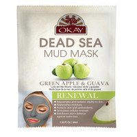 Dead Sea Mud Mask Green Apple & Guava -  Helps Rejuvenate And Restore Vitality To Skin- Nourishes & Replenishes- Promotes Healthy Skin- Made In USA1.50 fl.oz /44ml