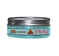 Argan Hair Gel - Extra Hold-Healthy Conditioning Shine, Leaves Hair Smooth, Conditions Hair- No flakes, No stick, No Itch, And Alcohol-Free, For All Hair Types And Textures - Made in USA    - 5 oz
