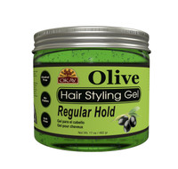 Olive Hair Gel - 17 oz