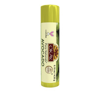 Organic Flavor Lip Balm Tube - Avocado - Formulated With Organic Ingredients - Helps Moisturize, Soothe, And Protect Lips- Silicone, Paraben Free For All Skin Types - Made in USA 0.15oz/4gr