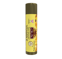 Organic Flavor Lip Balm Tube - Vitamin E- Formulated With Organic Ingredients - Helps Moisturize, Soothe, And Protect Lips- Silicone, Paraben Free For All Skin Types - Made in USA 0.15oz/4gr