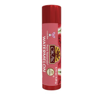 Organic Flavor Lip Balm Tube - Watermelon- Formulated With Organic Ingredients - Helps Moisturize, Soothe, And Protect Lips-Silicone, Paraben Free For All Skin Types - Made in USA 0.15oz/4gr