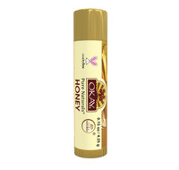 Organic Flavor Lip Balm Tube - Honey - Formulated With Organic Ingredients - Helps Moisturize, Soothe, And Protect Lips- Silicone, Paraben Free For All Skin Types - Made in USA 0.15oz/4gr
