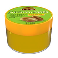OKAY Polished Edges With Argan Oil 1oz- No Flaking  All Day Hold Edge Control - For Hairline, Sideburns -Silicone, Paraben Free For All Hair Types and Textures -  Made in USA