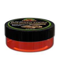 OKAY Polished Edges With Black Jamaican Castor Oil  - No Flaking  All Day Hold Edge Control - For Hairline, Sideburns -Silicone, Paraben Free For All Hair Types and Textures -  Made in USA 1oz