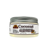 OKAY Coconut Curls Anti -Frizz Detangling Hair Smoothie - For Styling  & Curl Enhancing - For Smooth, Glossy, Frizz Free, Strong & Well Defined Curls- Alcohol, Sulfate, Paraben Free - Made in USA 7.25 oz
