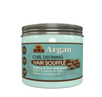 OKAY Argan Curl Enhancing Hair Soufflé - For Styling  & Curl Enhancing  -  Smooth, Glossy, Frizz Free, Strong & Well Defined Curls - Alcohol, Sulfate, Paraben Free- Made in USA 17 oz