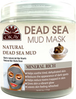 Natural Dead Sea Mud -Improves Appearance Of Skin-Helps Minimize Pores-Deeply Hydrates - Reduces Fine Lines & Wrinkles -Nourishes & Replenishes- Promotes Healthy Skin-Sulfate,Silicone,Paraben Free For All Skin Types -Made In USA 6 fl.oz /177ml
