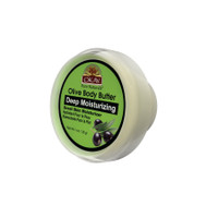 OKAY 100% Natural Olive Body Butter- Deep Moisturizing - Great Skin Moisturizer- Restores Moisture To Dry Damaged Skin - Reduces Skin Damage-Heals & Nourishes -Made In USA 1oz