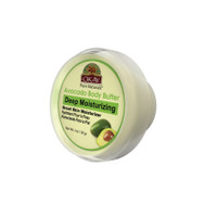 OKAY 100% Natural Avocado Body Butter- Deep Moisturizing - Great Skin Moisturizer- Restores Moisture To Dry Damaged Skin - Reduces Skin Damage-Heals & Nourishes -Made In USA 1oz