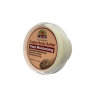 OKAY 100% Natural Castor Body Butter- Deep Moisturizing - Great Skin Moisturizer- Restores Moisture To Dry Damaged Skin - Reduces Skin Damage-Heals & Nourishes -Made In USA 1oz