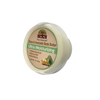 OKAY 100% Natural Shea & Avocado Body Butter- Deep Moisturizing - Great Skin Moisturizer- Restores Moisture To Dry Damaged Skin - Reduces Skin Damage-Heals & Nourishes -Made In USA 1oz