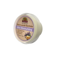 OKAY 100% Natural Shea & Lavender Body Butter- Deep Moisturizing - Great Skin Moisturizer- Restores Moisture To Dry Damaged Skin - Reduces Skin Damage-Heals & Nourishes -Made In USA 1oz