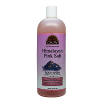Himalayan Pink Salt Body Wash - Refreshing And Nourishing- Leave Skin Feeling Cleansed And Pampered - Contains Minerals Known For Nourishing Skin- No Parabens, No Silicones, No Sulfates - For All Skin Types- Made In USA -33.8oz / 1Liter