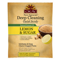 Deep Cleaning Lemon and Brown Sugar Facial Scrub- Helps Clear Blemishes, Deep Cleans Pores, Leaves Skin Smooth - Alcohol, Sulfate, Paraben Free - Made in USA 1.50 fl.oz /44ml