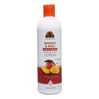 Mango & Shea Deep Moisturizing Body Lotion- Moisturize, Nourish, Soothe, Soften Skin- Repairs Damaged Skin- Silicone, Paraben Free For All Skin Types- Made in USA 12oz / 355 ml