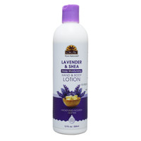 Lavender & Shea Deep Moisturizing Body Lotion- Moisturize, Nourish, Soothe, Soften Skin- Repairs Damaged Skin- Silicone, Paraben Free For All Skin Types- Made in USA 12oz / 355 ml