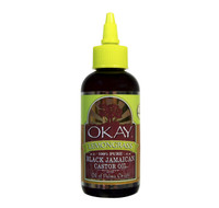 Black Jamaican Castor Oil With Lemongrass 4oz / 118ml