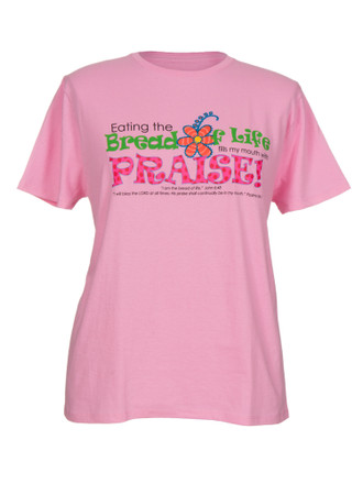 Bread of Life-T-shirt (Pink)