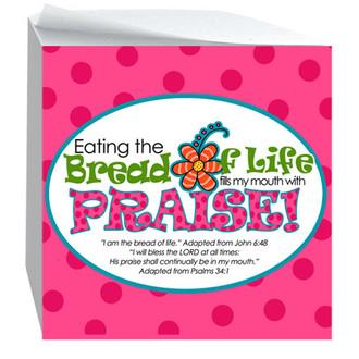 Bread Of Life-Sticky Notecube